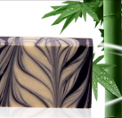 雪莱昵DIY渲染竹炭手工冷制洁面皂
