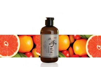 雪莱昵天然植萃冷制葡萄柚洗手皂液268ml
