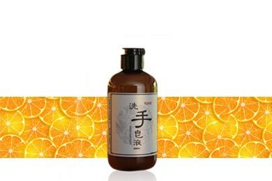 雪莱昵天然植萃冷制甜橙洗手皂液268ml